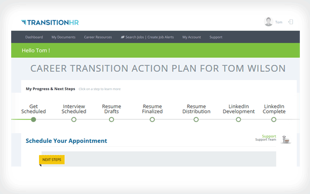 career transition portal